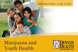 Marijuana and Youth Health Facts