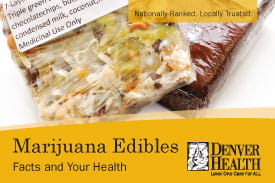 Marijuana Edibles Facts | Denver Public Health