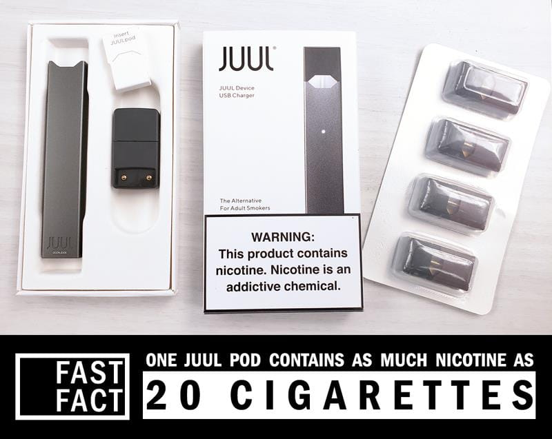 Fast Facts about JUUL e-cigarettes