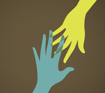Denver Health Suicide Prevention Blog Hands Reaching Out