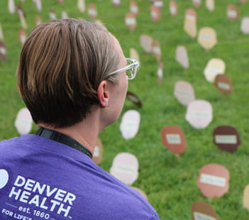 Denver Health Marks Overdose Awareness Day