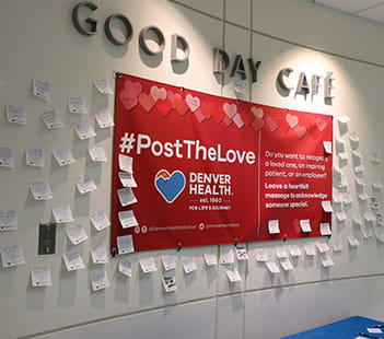 Denver Health Post the Love