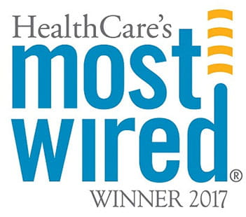 Healthcare's Most Wired Winner 2017