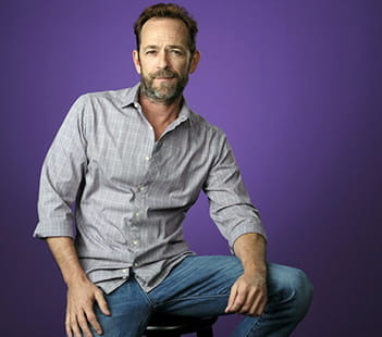 Actor Luke Perry