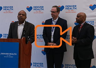 Denver Health Medical Plan news conference
